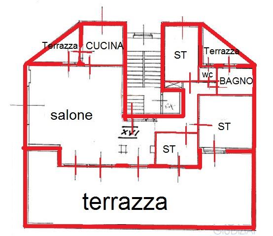mappa, i am cerco casa, trieste, aste, immobiliari, terrazza, appartamento,